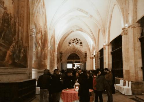 visita claustro de catedral de toledo
